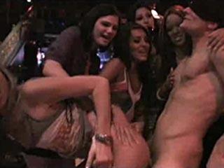 Naughty Natalia Sucks Stripper Cock!