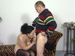 German Amateur Fucked By A Horny Older Dude