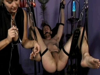 Mistress Nicollete's BDSM Ball Torture