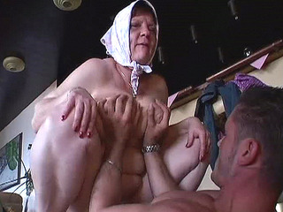 Old Lady In Total Sex