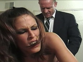 Sexy Teen Hoe Gets Hired To Fuck A Businessman