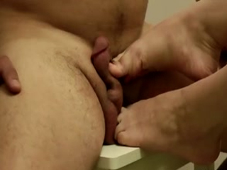 Painful Cum On The Chair