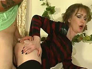 Lustful Mature Chick Getting Rock-Hard Dong Filling Her Mouth And Beaver