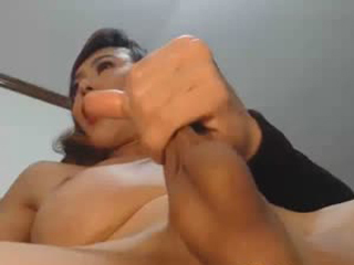 Playing With Her Dick