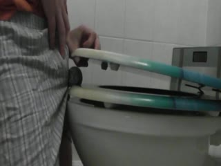 Toilet Shorts Busting