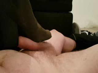 Cock Trampling And Ballbusting With Boots