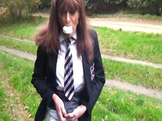 Écolière Cindy Sissy