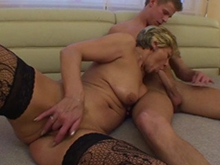 Mature Pussy Prefers Young Dick