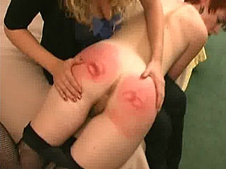 Maid Gets Spanked By Her Lesbian Owner
