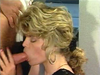 Horny Wife Sucks A Cock Till Her Husband Comes Home