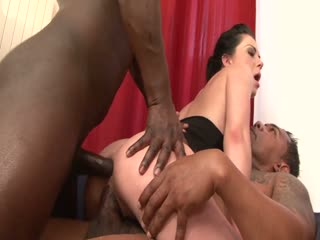 A Steamy Interracial Party