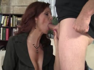 Big Boobed Syren De Mer Enjoys A Fat Dick In Her Pussy