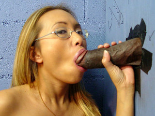 Bamboo Gives A Blowjob To A Huge Black Cock