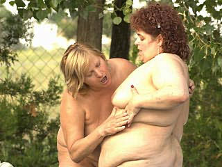 Fat Mature Lesbians Tits Tease
