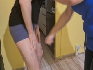 Kneeing And Punching
