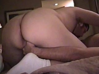 Bear sucking cock and taking it up his ass
