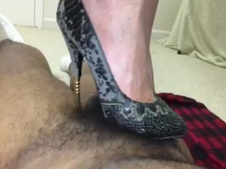 Black Metal Heels Trampling Part 3