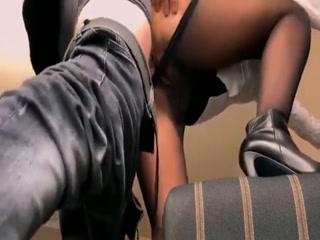Pantyhosed MILF With A Splendid Ass Gets Banged Doggystyle
