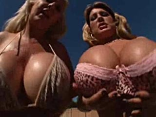 Summer & Kayla's Big Tit Fiasco!