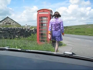 Phone box dare