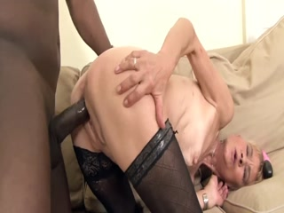 Luscious Granny Getting Nailed By Black Stallion
