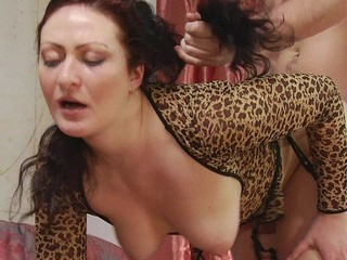 A Lonely Housewife Sucks A Mans Dick For Pleasure