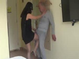 Policewoman Arrests Criminals