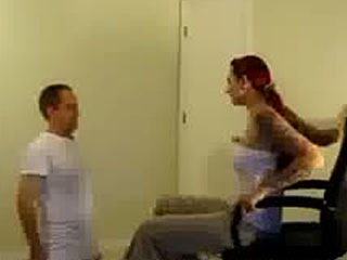 The Price For Not Cleaning: Ballbusting!