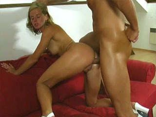 Sexy Blonde Boned In Her Ass