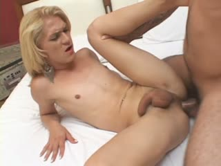 Thick Cock For The Horny Shemale's Ass