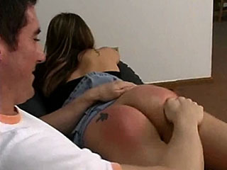 Vanessa Gets Spanked And Fucked