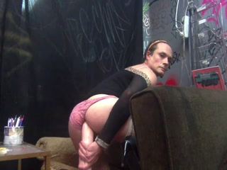 Sissy And A Horse Cock