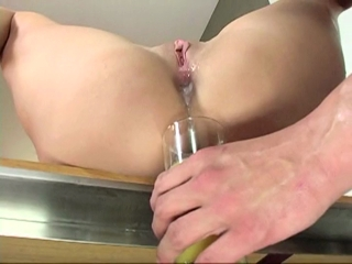Anal Creampie For Horny Bitch
