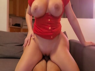 Babe With Big Booty Fucks Me Hard And I Cum On Her Perfect Butt