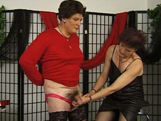Sissified Slave Trained By A Sexy Mistress