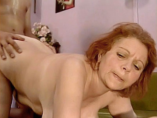 Redhead Mature Takes It Style Chien