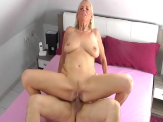 Cougar MILF Gets Served A Hard Cock And A Hot Cumload