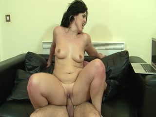Pervert Mature Woman Fucks Horny Man And Receiving Massive Load On Her Face