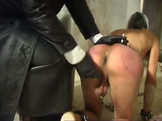 Pulling On The Lucky Slaves Balls
