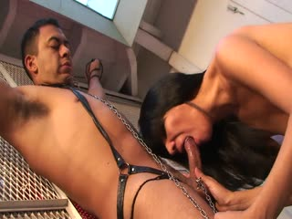 Mature Latina Uses Her Slave