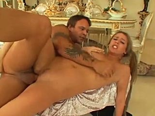 Hottie Nicole Blows Cock Then Gets Drilled Hard