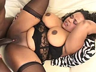 Sexy Black BBW Nailed In Her Pussy
