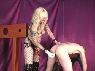 Dildo Sissy Slave Used By Mistress