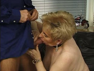 Horny Dude Fucks A Slutty Granny