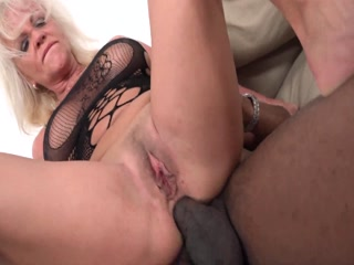 Big Black Cock For Horny Granny