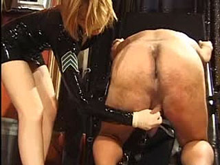 Asian empress ballbusting