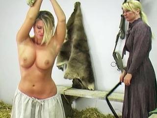 Whipping The Farm Girl