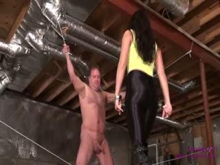 Devastating Kicks To A Tied Up Slave [FULL]