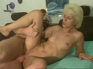 Dicking a mature blonde