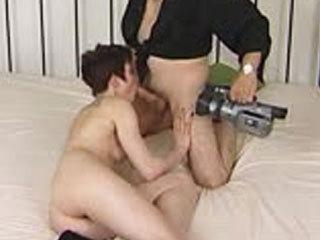 Skinny Amateur Sucks And Fucks A Horny Guy's Dick